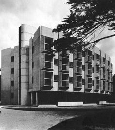 Wolfson Building, St. Anne's College, University of Oxford, England, 1964 (Howell, Killick, Partridge, Amis)