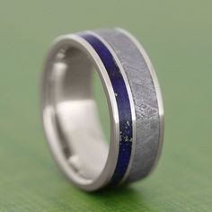 Lance's ring: we had his made with titanium instead of 14k gold, but otherwise it's right on  :)