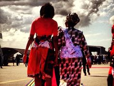 Michelle Obama documents African trip through Instagram