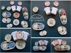 DIY - motor z wikliny papierowej Clay Art Projects, Diy Projects, Newspaper Crafts, Diy Home Crafts, Paper Art, Character Art, Harley Davidson, Holiday Decor, Pictures