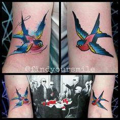 unique Watercolor tattoo - Russell Van Schaick Tattoos — #watercolor #watercolortattoo #watercolour...