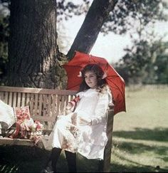 Autochromes taken between 1910 and 1915. They show Janet and Iris Laing in their parents' house and garden in Headington, Oxford.