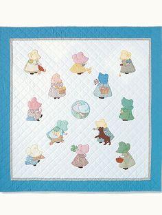 Sunbonnet Babies quilt pattern at AnniesCatalog.com