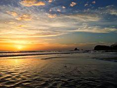 Sunset at Maderas Beach, San Juan del Sur