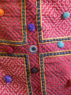 Sri | A Kambira Stitched Rajasthani Bag: Recycled Cottons