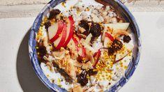 Mixed Grain and Coconut Porridge Recipe — Bon Appétit Tahini, Quinoa Bars, Porridge Recipes, Unsweetened Coconut Milk, Coconut Smoothie, Vegan Breakfast Recipes, Brunch Recipes, Breakfast Ideas, Vegan Recipes