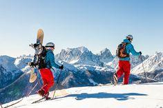 Ski tourers walking in Sexten Dolomites Walking, Mount Everest, Skiing, Mountains, Gallery, Nature, Travel, Tights, Touring
