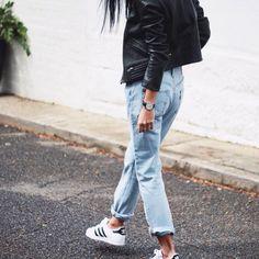 79e9f7c088d4 Best how to wear adidas shoes street style boyfriend jeans Ideas