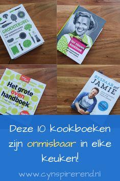Ik ben gek op koken en deel graag mijn eigen succesrecepten op deze website. Maar ik haal ook met veel plezier inspiratie en heerlijke recepten uit kookboeken. Ik heb een aardige verzameling bak- en kookboeken verzameld. De kookboeken die ik het meest gebruik, staan voor het grijpen op een plank in onze keuken. Én je vind ze op deze pagina met mijn persoonlijke kookboeken top 10!