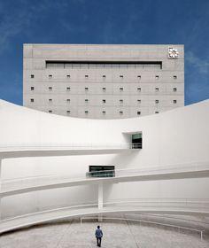 Museo de la Memoria de Andalucía, Granada Spain | Alberto Campo Baeza | Photo : Adrián Mora Maroto