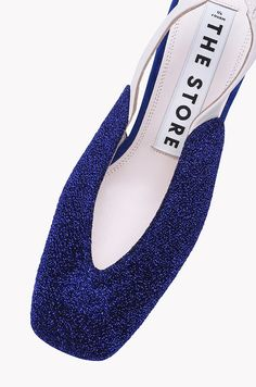 Glitter sling back heels