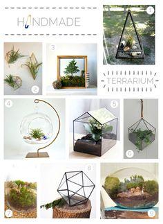 Handmade | Terrariums