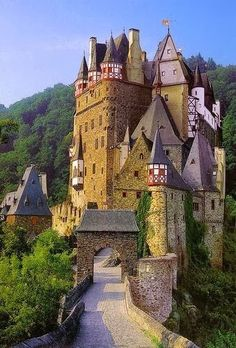 Castle Burg Eltz, Germany