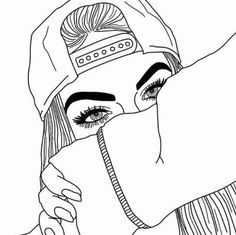 Cool easy drawings cool pictures to draw cool drawing that are easy photos cool drawings for girls easy cool easy drawings of dogs step by step Tumblr Girl Drawing, Tumblr Art, Girl Drawing Sketches, Girl Sketch, Tumblr Girls, Drawing Girls, Manga Drawing, Teenage Girl Drawing, Manga Art