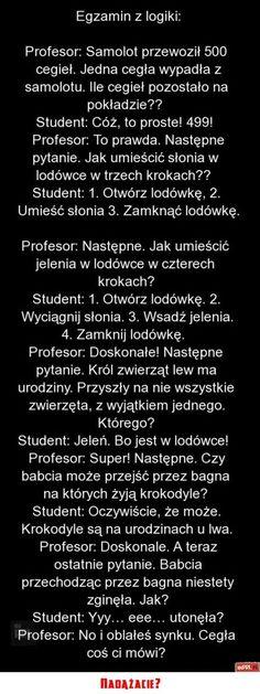 Stylowa kolekcja inspiracji z kategorii Humor Polish Memes, Funny Mems, The Sims4, Wtf Funny, Man Humor, Best Memes, Cool Words, Sentences, Life Lessons