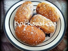 Cape Malay Koeksusters recipe by Ruhana Ebrahim posted on 21 Jan 2017 . Recipe has a rating of by 3 members and the recipe belongs in the Biscuits & Pastries recipes category Halal Recipes, Donut Recipes, Pastry Recipes, Cookie Recipes, Koeksister Recipe South Africa, No Bake Desserts, Dessert Recipes, Flours Banana Bread, Cookies