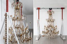 """""""Danh Vo, Go Mo Ni Ma Da"""", installation view at the Musée d'Art moderne de la Ville de Paris. Photo by Pierre Antoine"""
