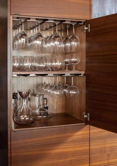 new kitchen cabinets wine glass storage cabinet wine glass storage drawer designs wine glass storage under cabinet Kitchen Room Design, Modern Kitchen Design, Home Decor Kitchen, Interior Design Kitchen, Kitchen Furniture, Furniture Stores, Furniture Repair, Furniture Cleaning, Furniture Websites