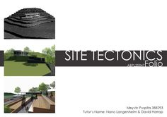 Final Journal for Site Tectonics
