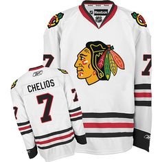 Chris Chelios Jersey - Buy 100% official Reebok Chris Chelios Men s  Authentic White Jersey NHL 35a2098c9