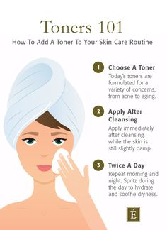 You've heard that using a toner is an important #skincare step, but what does it do? 🤔 Here's a breakdown of what a toner is, why you need to use one and which #toner is right for you. ---- #skincaretips #healthyskin #skincareroutine