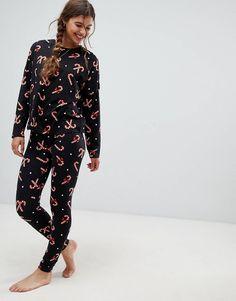 New Look Gift Reindeer Ensemble de Pyjama Femme