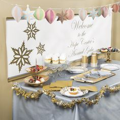 A Christmas party would not be complete without the right decorations. Oriental Trading can help you to prepare your home, or any space for a Christmas party.