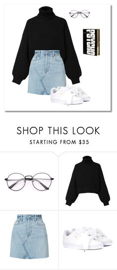 """"""".calculus."""" by marta-isabella ❤ liked on Polyvore featuring Diesel, RE/DONE, Puma and Olympia Le-Tan"""