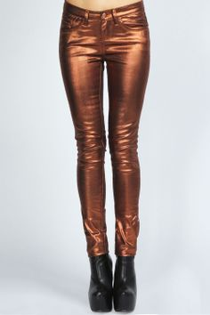 Asia Metallic Super Skinny Jeans at boohoo.com - Error(s) on page