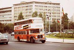 Autocarros de dois andares que circulavam em Lisboa