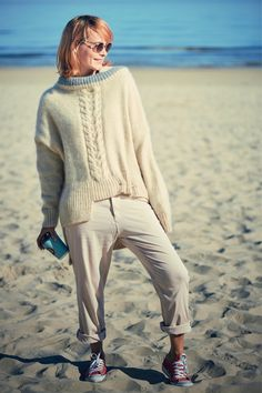 Beige sweater handmade - Woman oversize Comfy long knitwear - Alpaca wool knit sweater - Braided artsy knit garment by EshByEshBoutique on Etsy https://www.etsy.com/listing/516460888/beige-sweater-handmade-woman-oversize