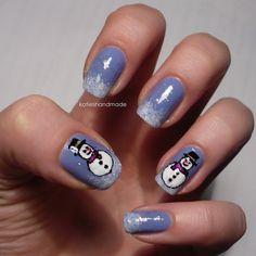 Christmas nail art | Christmas Nail Designs