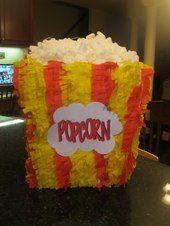 Popcorn Box Pinata