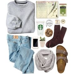 20 Fall Birkenstock Outfit Inspiration Looks Where to Buy & Birkenstock Dupes Birkenstock Outfit, Looks Style, Looks Cool, Fall Winter Outfits, Autumn Winter Fashion, Casual Outfits, Cute Outfits, Polyvore, Mode Style