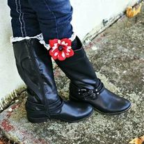 Products · Black and Red Boot Cuffs · Temptations Creations's Store Admin