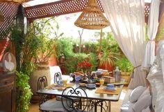 La terraza de los Olivos en Marrakesh.. el mejor cumple de todos!!