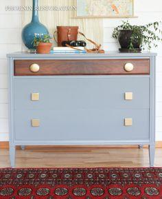 Eclectic Art Deco Dresser {by: Phoenix Restoration}