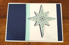 Stampin' Up with Tori&TeAo Star of light  Stampin up