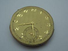 Antikes Taschenuhrwerk *DEP.665-Ser.Nr: 57970 defekt f. Bastler -selten rar TAU