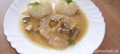Bravčové na prírodno s ryžou Risotto, Soup, Ethnic Recipes, Cooking, Soups