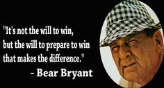 Bear Bryant     For Great Sports Stories and Audio Podcasts Visit our Blog at www.RollTideWarEagle.com