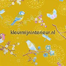 pip early bird ochre gold Eijffinger 386014