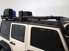 Jeep Wrangler JKU Roof Rack (4 Door Full Cargo Rack) - Front Runner Slimline II Extreme