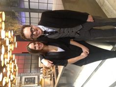 Time to party! Tommy Smythe and his lovely sister Christie stopped by our kitchen to strike a pose.