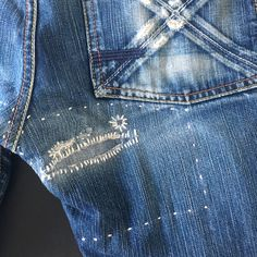 SASHIKODENIM by Pey Handstitched denim repair art Enjoy the art of imperfection (Respect the source)