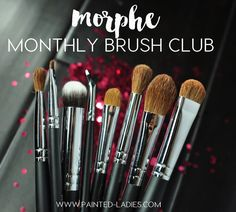 The Second Installment Of The Morphe Monthly Brush Club Is All Kind Of Awesome - Painted Ladies