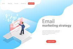 Seo Digital Marketing, Email Marketing Strategy, Newsletter Templates, Online Newsletter, Website Header, Graphic Design Trends, Advertising Campaign, Software Development, Teamwork