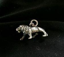 Vintage Sterling Silver Beau Lion Charm