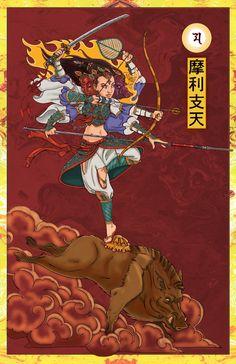 Modern manga image of Marishiten