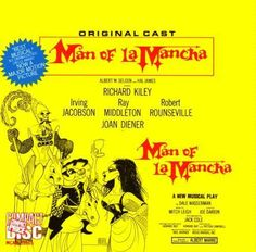 Love the songs from Broadway musicals? Here's a chance to own your favorite classic Broadway soundtracks from a variety of your favorite musicals.    Stars... Man Of La Mancha, It Cast, Impossible Dream, Musical Theatre, Ahmanson Theatre, Broadway Theatre, Broadway Shows, Broadway Plays, Vintage Men